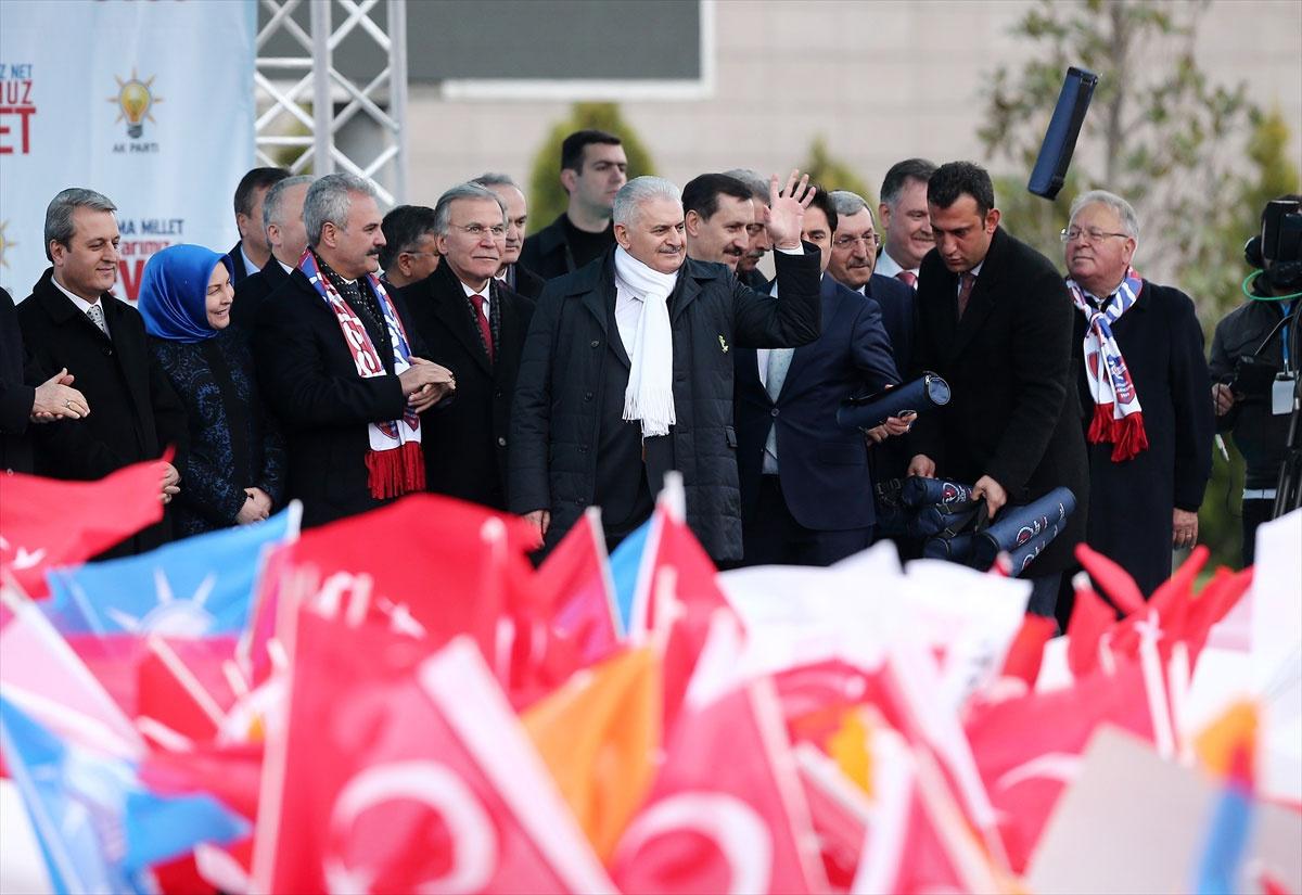 Başbakan Binali Yıldırım Karabük'te konuştu!