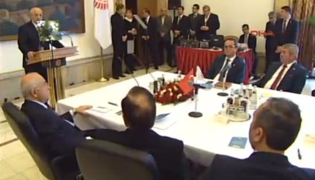 Meclis Anayasa Uzlaşma Komisyonu toplandı