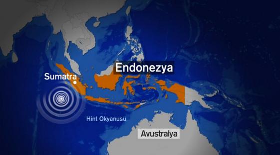 Endonezya son dakika deprem