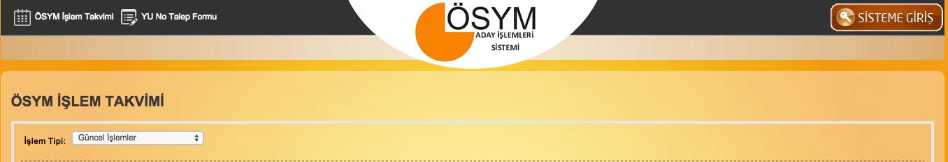 YGS soruları 2016 ÖSYM puan hesaplama örnek tablo ais.osym.gov.tr