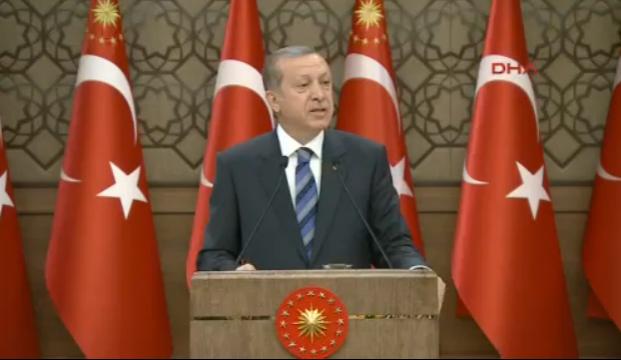 Cumhurbaşkanı Recep Tayyip Erdoğan, Türkiye İhracatçılar Meclisi-TİM üyelerine seslendi FETÖ'cüleri ihbar edin çağrısı yaptı