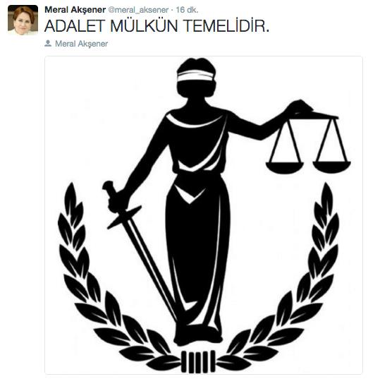 Meral Akşener mhp kurultay kararı sonrası ilginç tweet