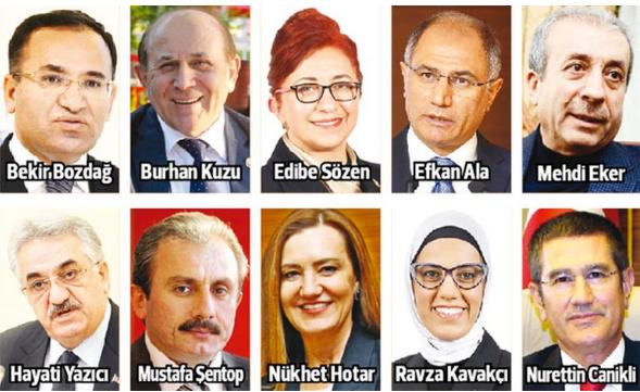 yeni bakanlar kurulu listesi 2016 ne zaman açıklanıyor