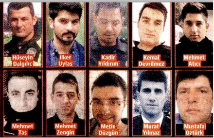 istanbul patlamaları şehitlerin kimlikleri isimleri ne