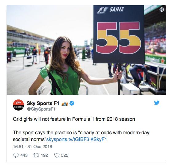 Grid kızları F1