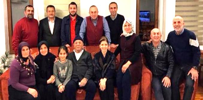 Mevlüt Çavuşoğlu'nun ailesi