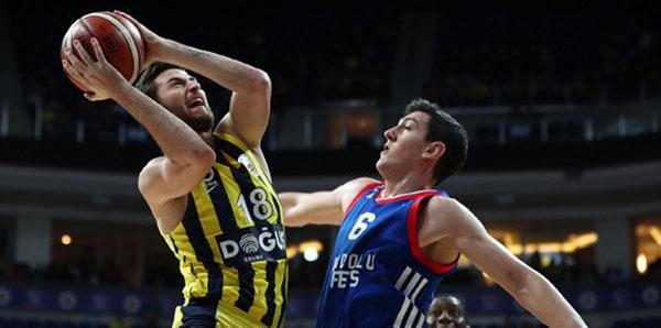 Fenerbahçe Doğuş sahasında Anadolu Efes'i devirdi