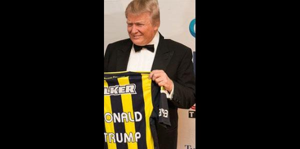 Fenerbahçeli Trump! İşte fotoğrafın hikayesi...