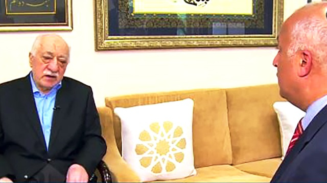 FETÖ lideri Fetullah Gülen, Mısır'dan yayın yapan Al Ghad kanalına röportaj verdi.