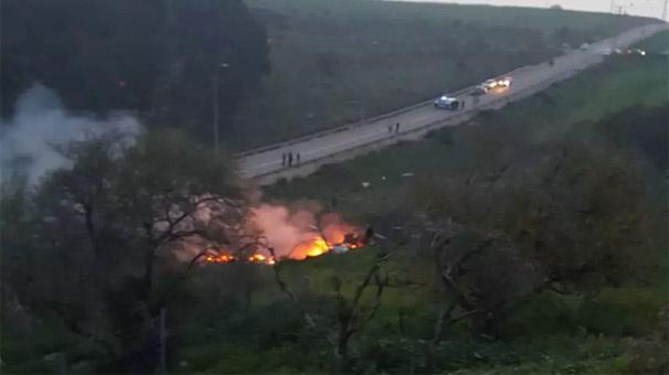 İsrail ordusu, Suriye uçağının düşürüldüğü koşulları açıkladı