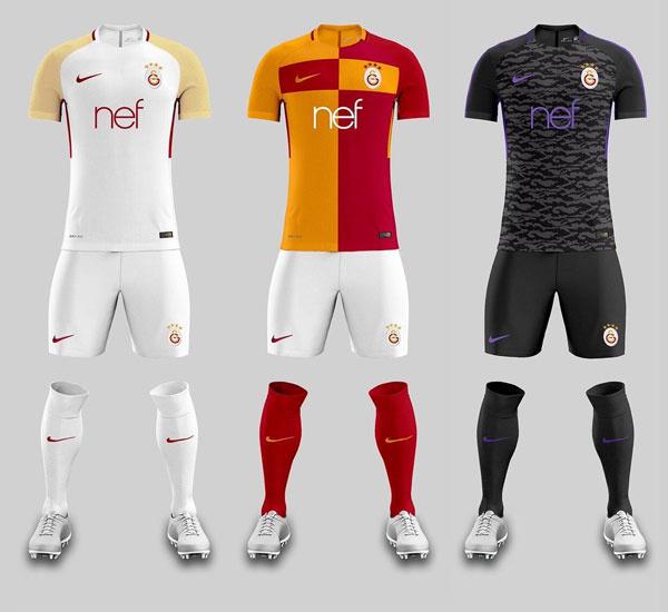 Galatasaray bu formaları mı giyecek?