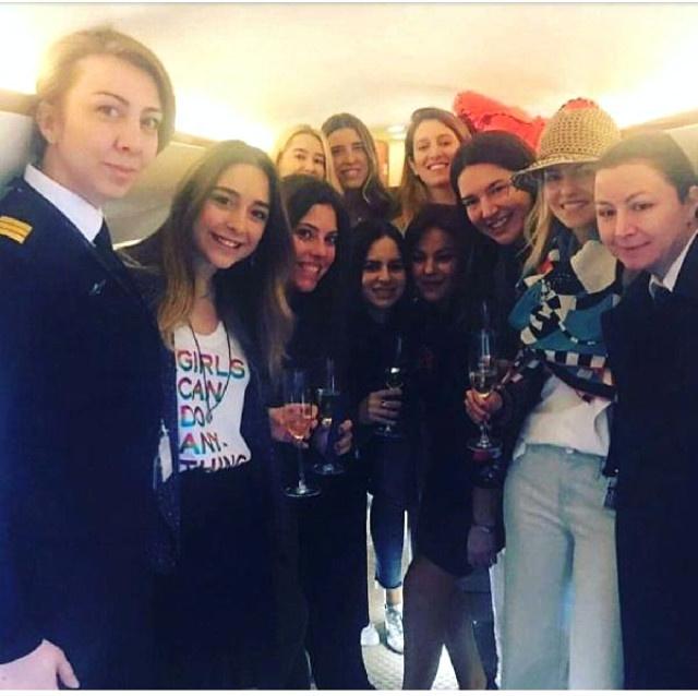 Pilot Melike Kuvvet'in ablasından korkunç 'uçak' iddiası