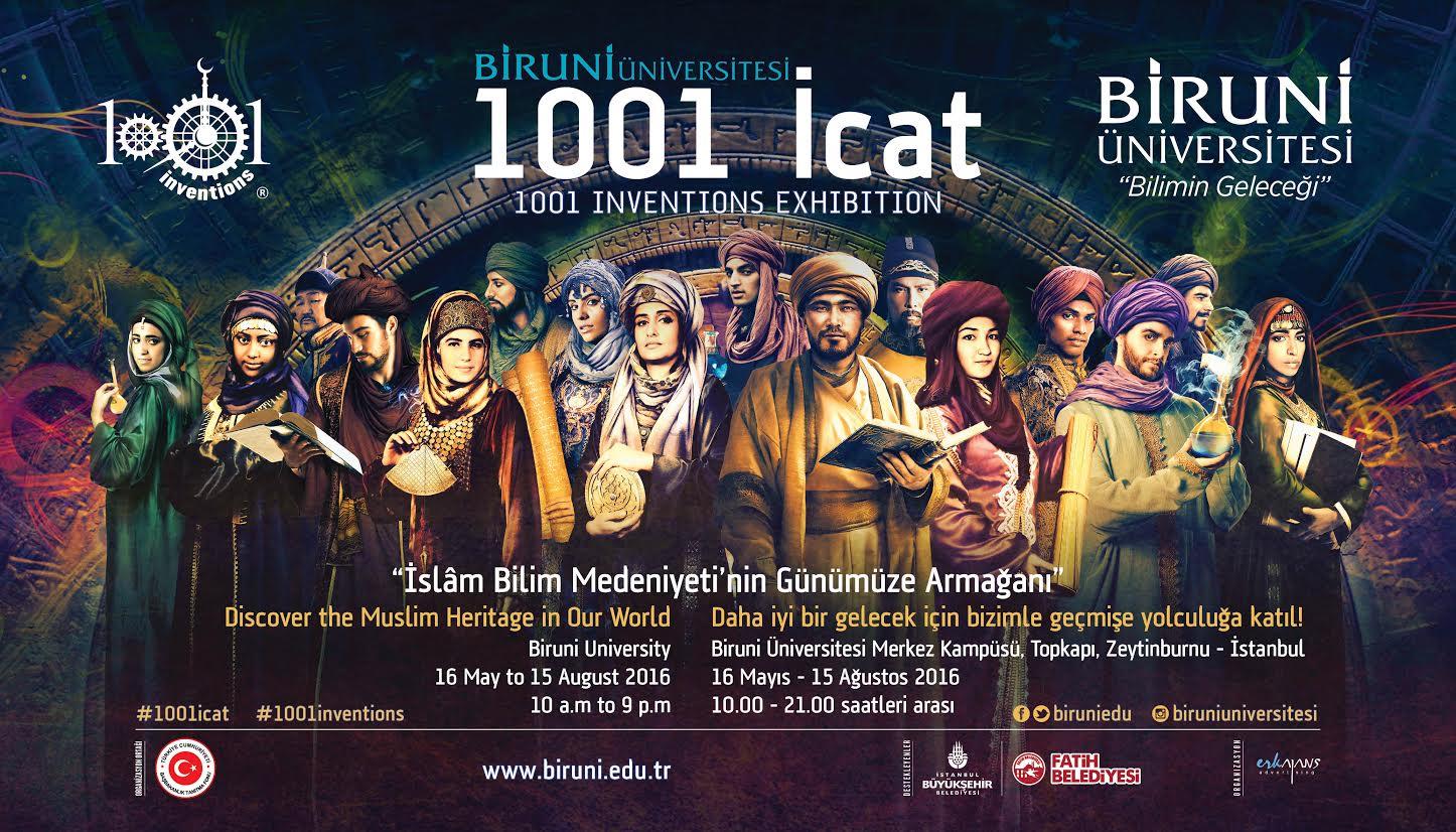 �sl�m Tarihinden Gelece�e Arma�an: 1001 �cat Sergisi