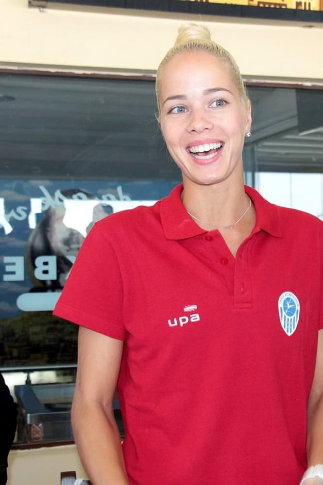 Canik Belediyespor yeni transferlerini tanıttı Antonija Misura