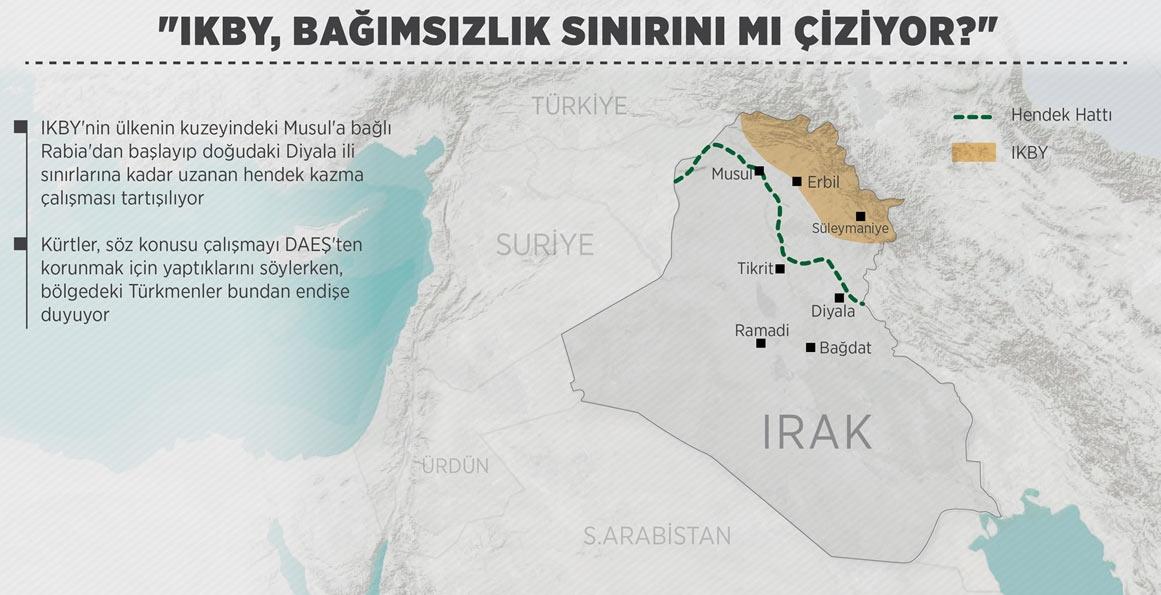 kürt devleti sınırları çizildi