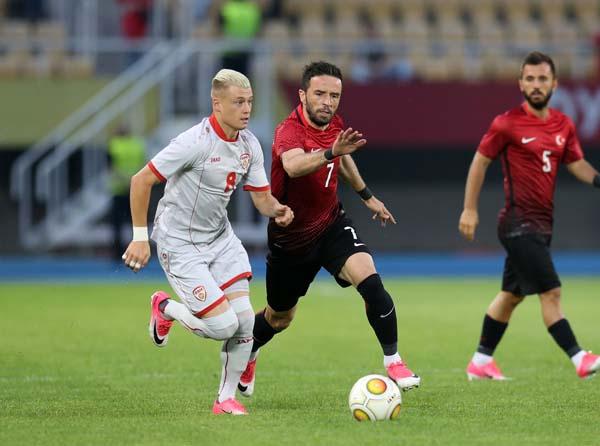 Milli Takım Makedonya maçı sonucu ve özeti