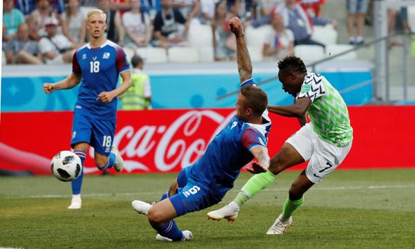 Nijerya-İzlanda