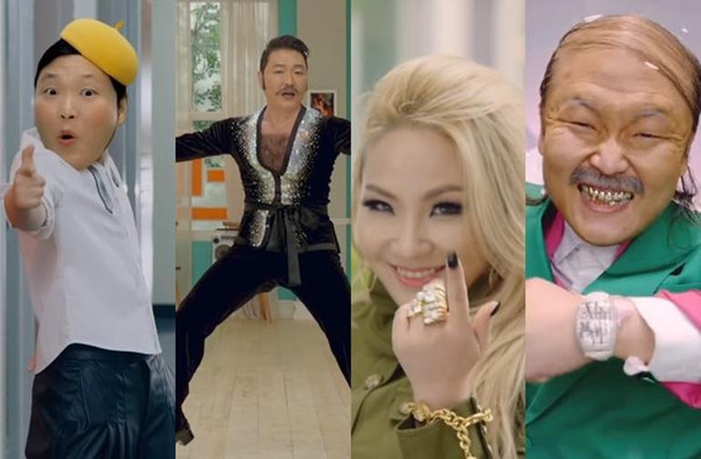 PSY yeni şarkısı Daddy klibi You Tube izlenme rekorunu kırdı