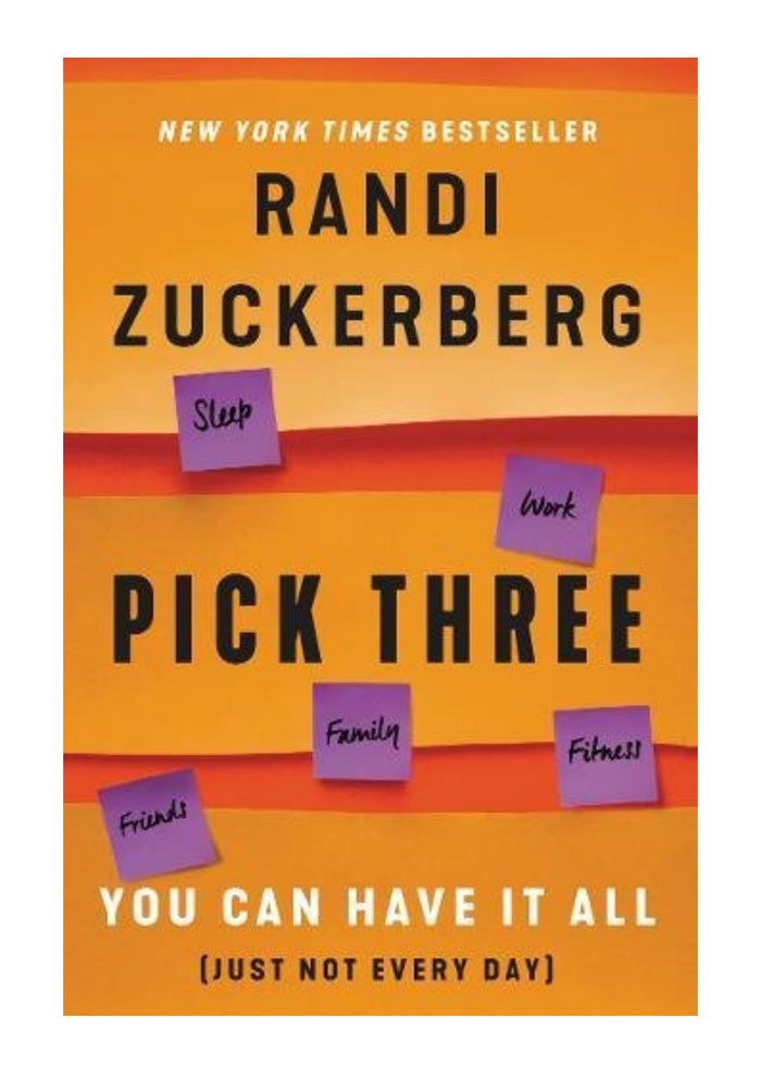 Deniz Temur Randi Zuncerberg kitabı Pick Three yazısı