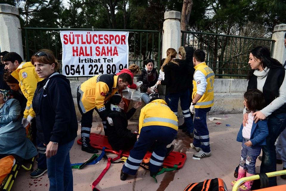 Sütlüce belediye otobüsü kazası