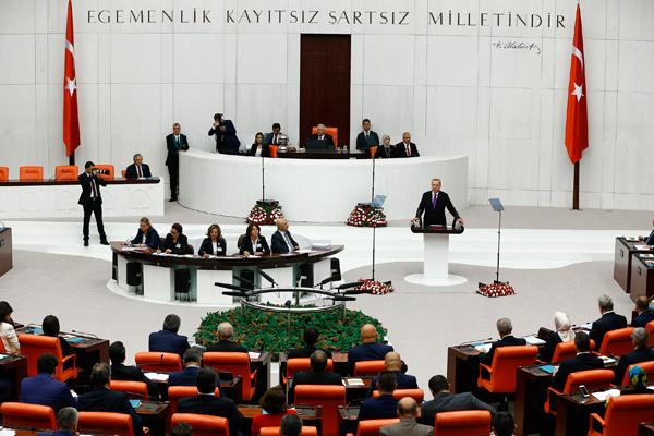 Erdoğan protestosunu Kılıçdaroğlu engelledi!