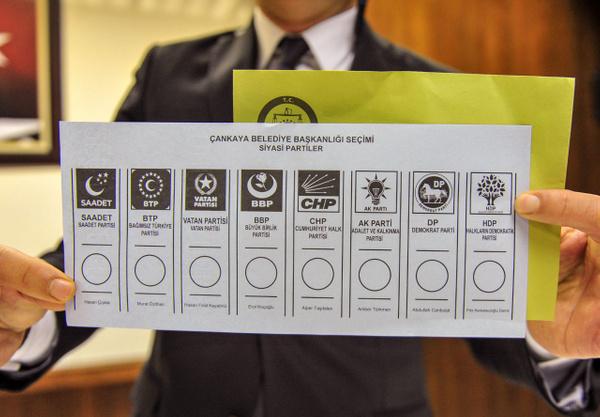 31 Mart yerel seçimlerinde kullanılacak oy pusulaları böyle olacak - Sayfa 1