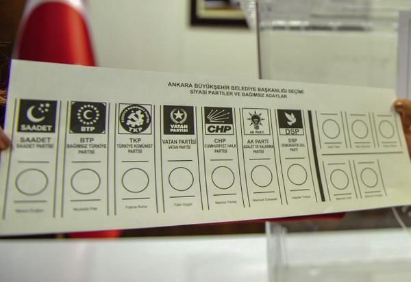 31 Mart yerel seçimlerinde kullanılacak oy pusulaları böyle olacak - Sayfa 2