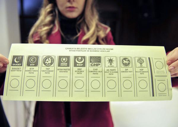 31 Mart yerel seçimlerinde kullanılacak oy pusulaları böyle olacak - Sayfa 3