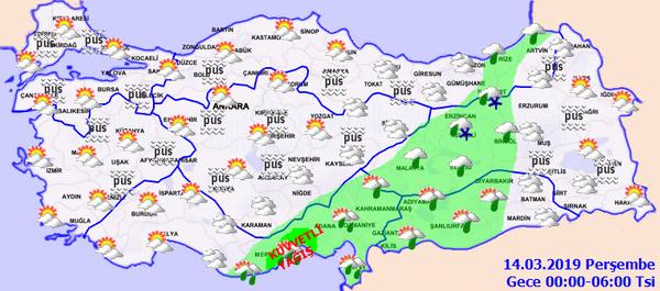 Meteorolojiden ülke geneline yağış uyarısı! - Sayfa 3