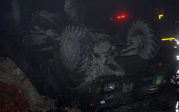 Hatay'da askeri araç devrildi: 5 asker yaralı - Sayfa 2