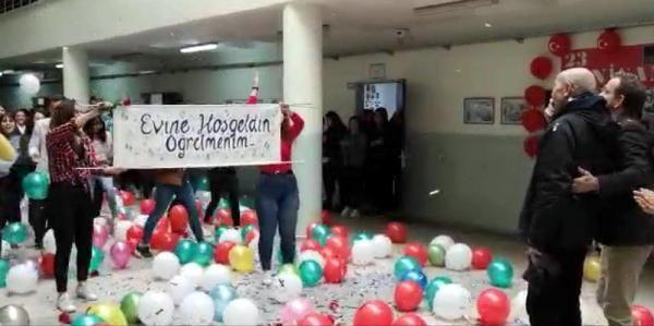 Tekirdağ'da kanseri yenen öğretmene okulunda göz yaşartan karşılama - Sayfa 3
