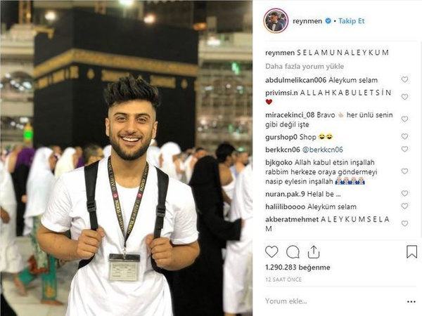 Reynmen Umre'ye gitti yaptığı yorum sosyal medyayı ikiye böldü - Sayfa 2