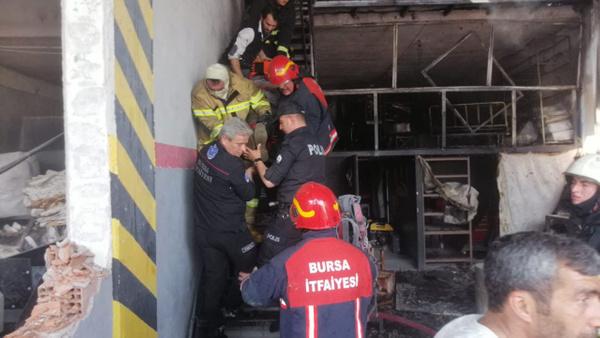 Bursa'daki patlamadan 3 gün sonra kahreden haber - Sayfa 1