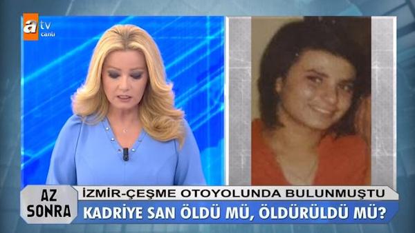 Müge Anlı'da şoke eden cinayet Kadriye San'ı cinler mi öldürdü? - Sayfa 2
