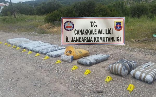 Balıkesir'de 1 tonluk uyuşturucu tekneyi batırdı - Sayfa 16