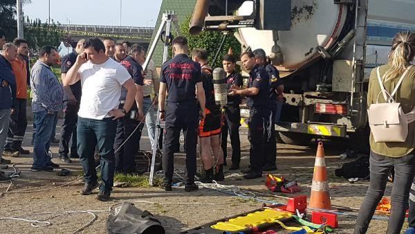 Trabzon'da kanalizasyon çukuruna düşen işçi kayboldu - Sayfa 3