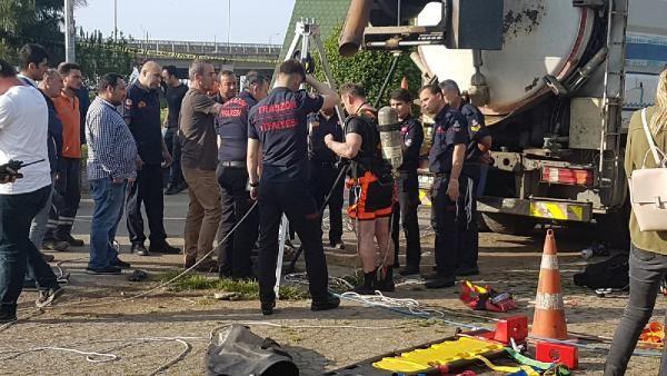 Trabzon'da kanalizasyon çukuruna düşen işçi kayboldu - Sayfa 4