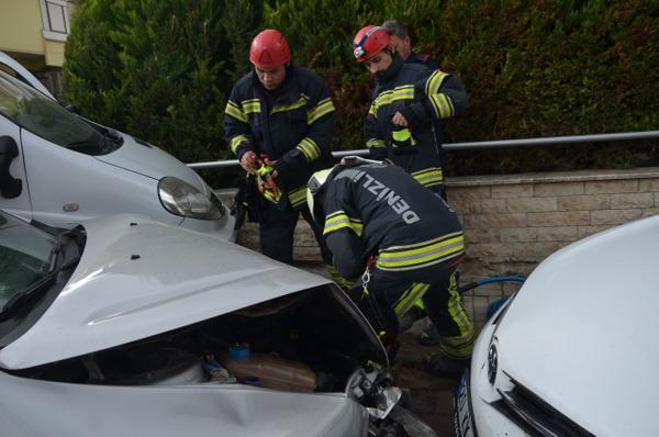 Denizli'de mahalleliyi ayağı kaldıran trafik kazası - Sayfa 5