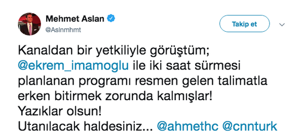Kesin bilgi diyor! Ekrem İmamoğlu Ahmet Hakan yayınıyla ilgili iddia! - Sayfa 5
