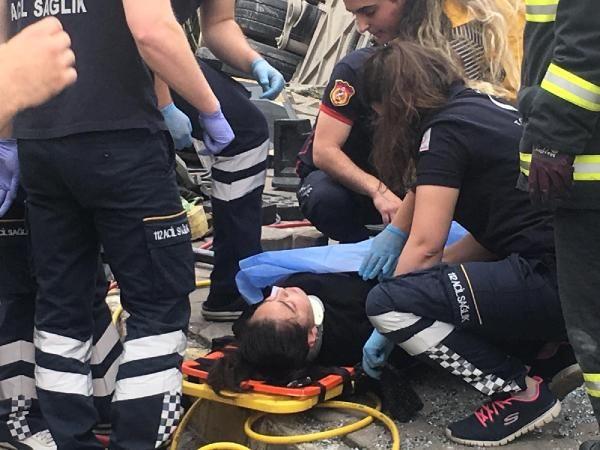 Kocaeli'de halk otobüsü devrildi 6 yaralı - Sayfa 4