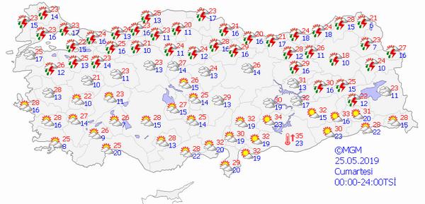 Meteorolojiden Ege, Akdeniz ve Marmara için flaş uyarı - Sayfa 7