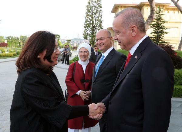 Erdoğan Irak Cumhurbaşkanı Berham Salıh'i ile görüştü - Sayfa 4
