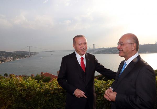 Erdoğan Irak Cumhurbaşkanı Berham Salıh'i ile görüştü - Sayfa 6
