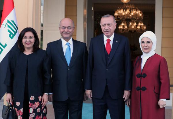 Erdoğan Irak Cumhurbaşkanı Berham Salıh'i ile görüştü - Sayfa 5