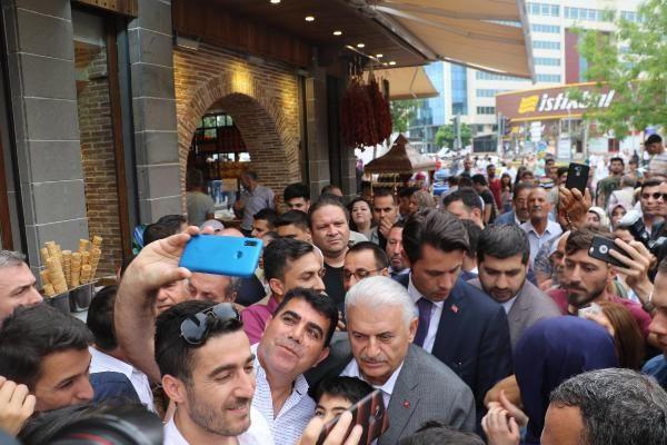 Binali Yıldırım'a Diyarbakır'da yoğun ilgi - Sayfa 2