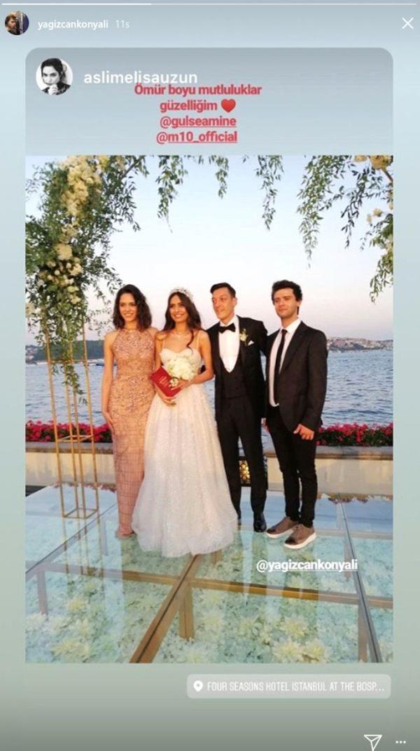 Amine Gülşe ve Mesut Özil evlendi! Düğüne ünlü akını oldu - Sayfa 8