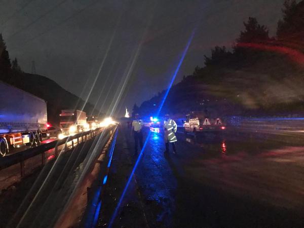 Manisa-İzmir yolu heyelan nedeniyle trafiğe kapandı - Sayfa 6