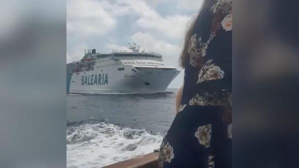 Feribot ile geminin çarpışacağını düşünen kadın suya atladı - Sayfa 2