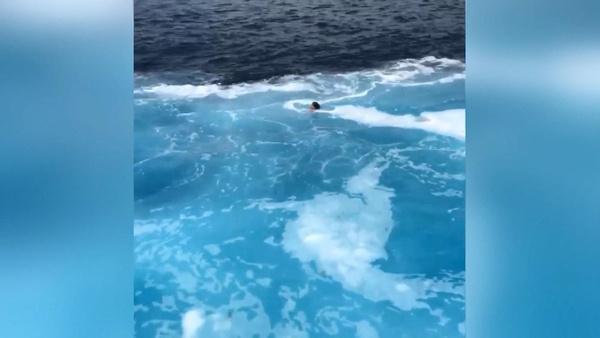 Feribot ile geminin çarpışacağını düşünen kadın suya atladı - Sayfa 6