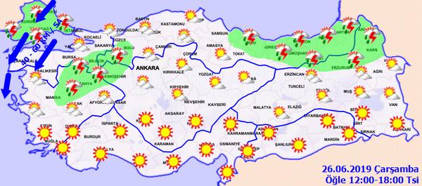 Meteorolojiden Trakya'ya güneş çarpması uyarısı - Sayfa 3
